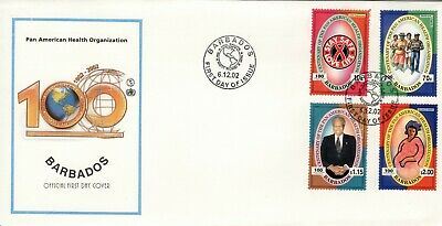 Barbados 2002 illustrated first day cover