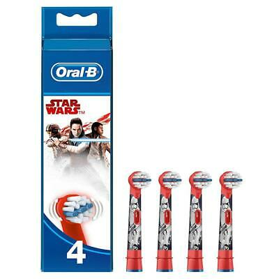 Oral-B Kids Stages Star Wars Replacement Red Toothbrush Heads, Pack of 4