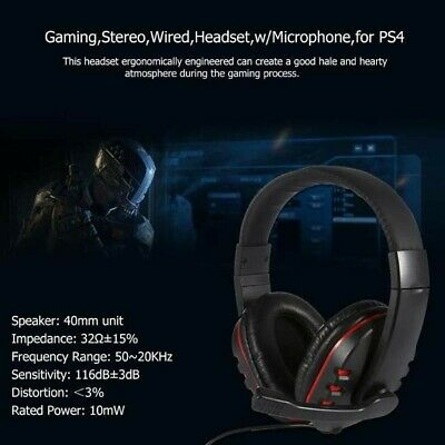 FOR PS4 XBOX One Nintendo Switch PC Stereo 3 5mm Wired