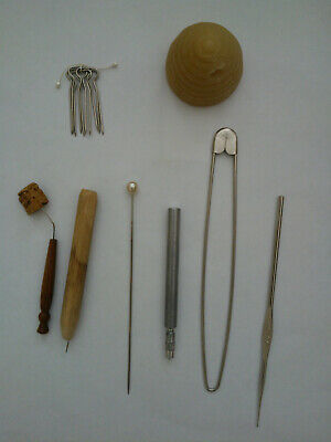 Collection of Lace Makers Tools