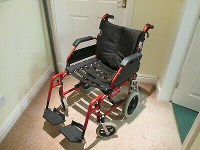 1775  Enigma XS Aluminium Attend Wheelchair