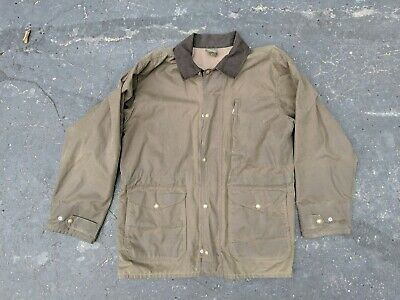 72af2cd666a3c Vintage Filson Style 1442N Wax Hunting Jacket Size XL Made in USA Tin Cloth