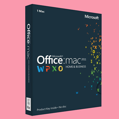Microsoft Office Home and Business 2011 for Mac Lizenz -English/ German/Spanish