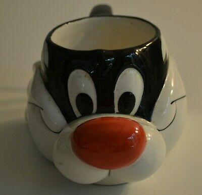 Sylvester, Looney Tunes, Warner Brothers, 3 D, Coffee Cup, Applause