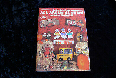 All About Autumn Artists Book Crafty Collections 1999 Paperback Halloween Wood