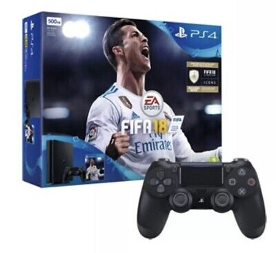 PS4 Slim 500GB FIFA 18 Controller And Console Bundle PlayStation 4  (BOXED)