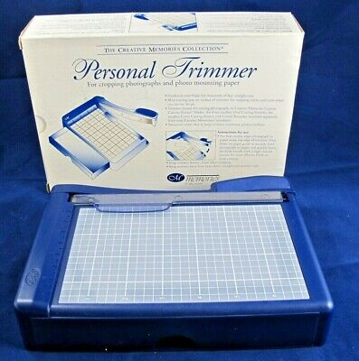 CM Creative Memories™ Personal Trimmer Paper Cutter 62237 Scrapbooking