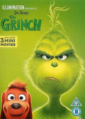 The Grinch DVD (2018)