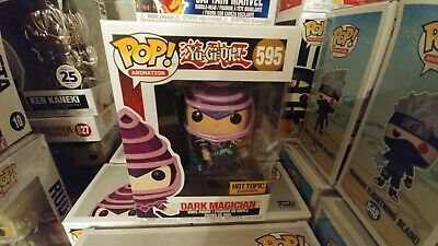 Funko Pop!Yu-Gi-Oh Dark Magician #595 Hot Topic Exclusive Mint and Free Shipping