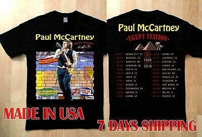 NEW Paul McCartney shirt 2019 Freshen Up Concert Tour T-shirt