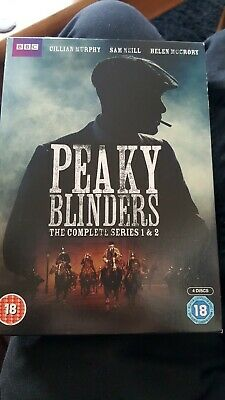 Peaky Blinders: The Complete Series 1 and 2 DVD (2014) Paul Anderson