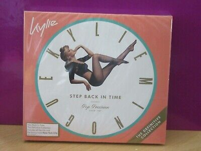 Kylie Minogue - Step Back In Time -The Definitive Collection - Brand New In Seal