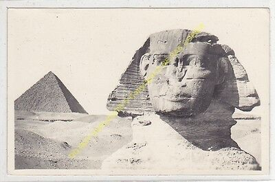 RPPC EGYPTE Sphinx Edit FERRIANA 1951