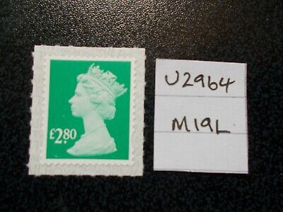 GB 2019~ Security Machin~£2.80~SG U2964~no source code~M19L~Unmounted Mint~UK