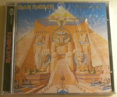 Iron Maiden Powerslave Cd Brand New Made In Brazil Enhanced Limited Pressing