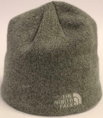 The North Face Men's Fleece Lined Logo Bones Beanie GS2 Gray One Size
