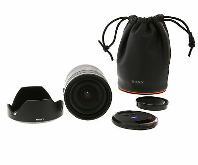 Sony 24-70mm f/2.8 Vario Sonnar Carl Zeiss T* ZA SSM Lens With Caps, Hood & Case