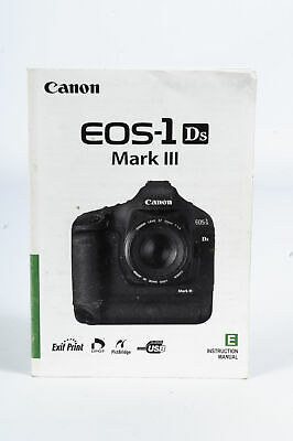 Canon 1Ds Mark III Instruction Manual