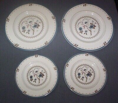 Set of 3 Royal Doulton Old Colony Dinner Plates