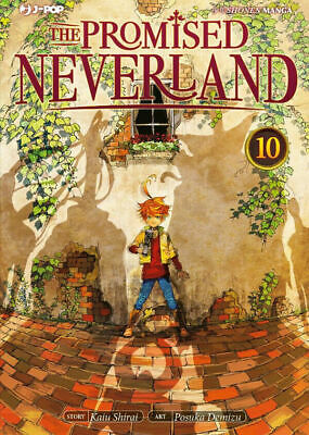 THE PROMISED NEVERLAND N. 10 - nuovo - j-pop