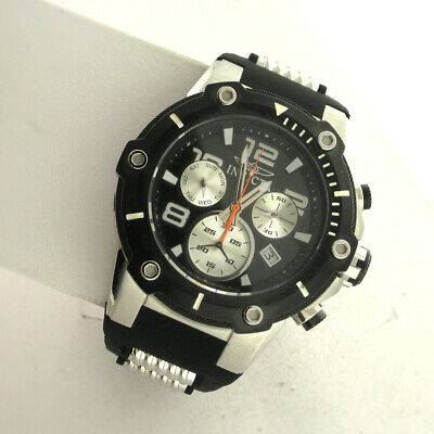 5a0380cad Invicta 22235 Mens Speedway Chronograph Stainless Silicone Band Quartz Watch