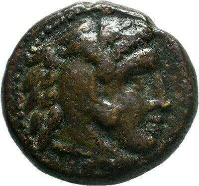 Macedonian Kingdom. Alexander III the Great. 336-323 B.C. AE , 6.30gr