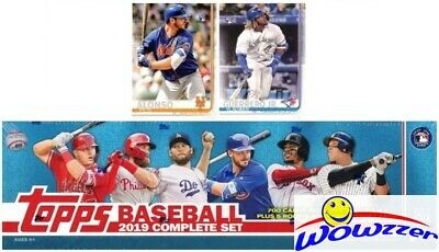 2019 Topps Baseball 706 Cards HUGE Retail Factory Set-2 Vladimir Jr+Pete Alonso