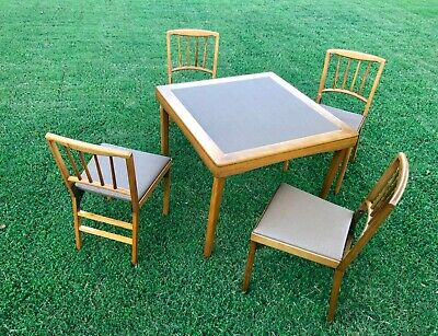 Vintage LEG-O-Matic Table and Chairs
