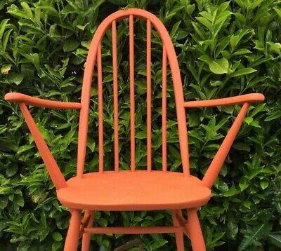 Vintage Ercol Quaker chair Carver - Bespoke PAINTED ANY COLOUR - can post £35