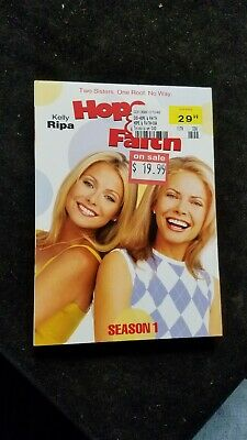 Hope and Faith - Season 1 (DVD, 2009, 4-Disc Set) New Sealed