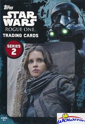 2017 Topps Star Wars Rogue One Series 2 EXCLUSIVE Factory Sealed Hanger Box