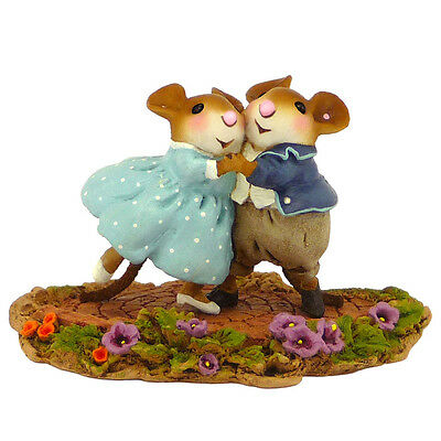 Wee Forest Folk GARDEN PARTY, WFF# M-460, Dancing Mice