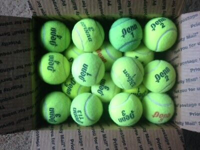 30 Used Tennis Balls - Excellent Condition