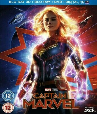 Captain Marvel  3D BLURAY (region code not required)