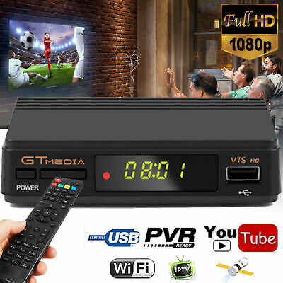 FREESAT V7S DVB-S2 1080P Digital Satellite TV Receiver Support