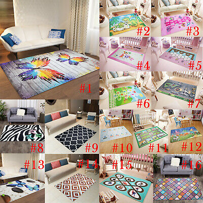 Rug Covers Slipcover Carpet Cover Case Protector Kids Room Home Decor USA