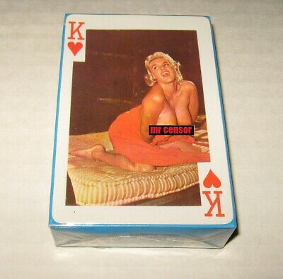vtg Sealed 1960's GAIETY 54 MODELS Nude Lady Playing Cards King of Hearts