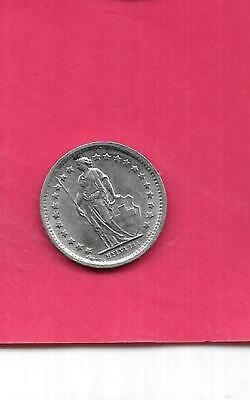 SWITZERLAND SWISS KM23a.1 1970 UNC-UNCIRCULATED MINT  VINTAGE 1/2 FRANC OLD COIN