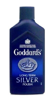 Goddards Long Term Silver Polish 125ml Jewellery Cleaner Multiples Available