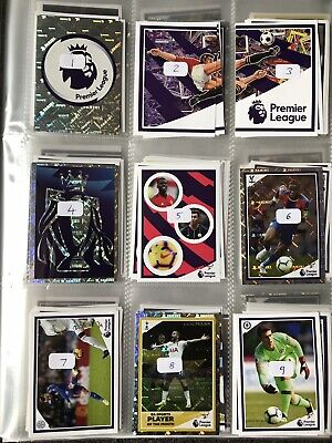 Panini Tabloid Premier League Football Stickers - Choose From Huge List!