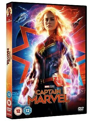 Captain Marvel dvd watched once region 2