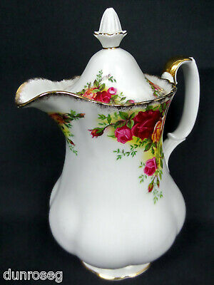 Old Country Roses Rare, 1 Pint Hot Water Pot/ Jug, 1962-73, England Royal Albert
