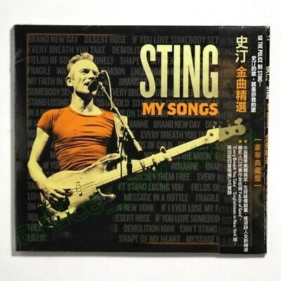 Sting My Songs Taiwan CD OBI Bonus 4 Track Deluxe Greatest Hits Best 2019 NEW