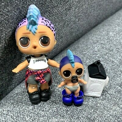 LIL & BIG DOLL LOL PUNK BOI BOY SURPRISE DOLL Series 3 WAVE 2 color change