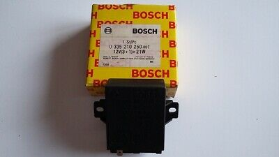 Bosch Blinkgeber 0335210250 12V Contact clignotant Intermitente blinker