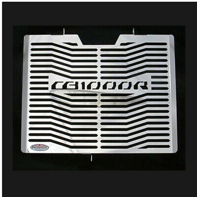 Honda CB1000R (08-17) Polished Stainless Steel Radiator Guard Grill Beowulf H020