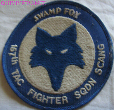 In13418 - Patch Swamp Fox Patch 157Th Tac Fighter Sqdn Scang