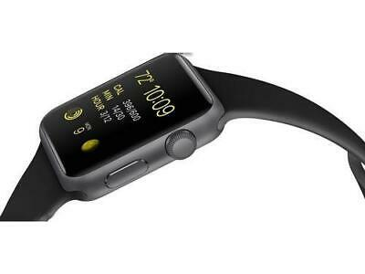 Apple Series 3 Smartwatch - Space Grey/Black - 38mm (MQKV2LL/A)