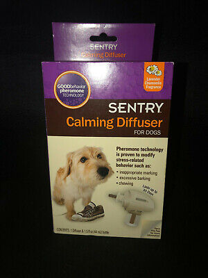 Sentry Calming Diffuser Set for Dogs. Brand New Factory Sealed Package