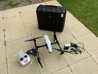 DJI Inspire 1 V1 - 1 Controller 2 Batteries + Case + Props (No Camera)